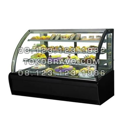 Curved Glass Cake Showcase S-980A Gea