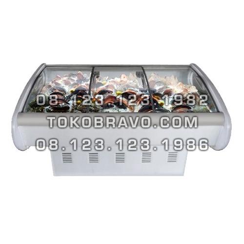 Minimarket Refrigeration Plugin Seafood Counter Cabinet SC-602BP Gea