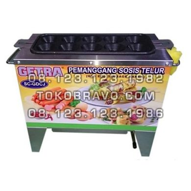 Gas Egg Sausage Machine SC-GDCJ-10 Getra