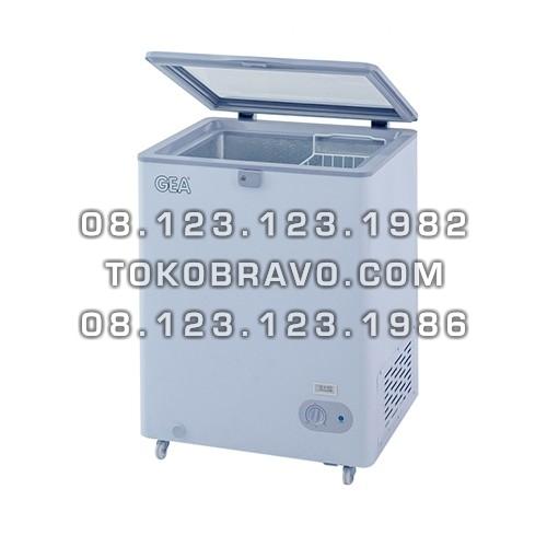 Sliding Flat Glass Freezer SD-100F Gea