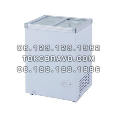 Sliding Flat Glass Freezer SD-100 Gea