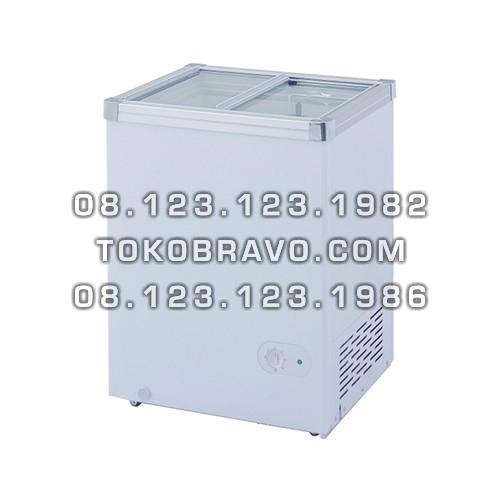 Sliding Flat Glass Freezer SD-100 Gea
