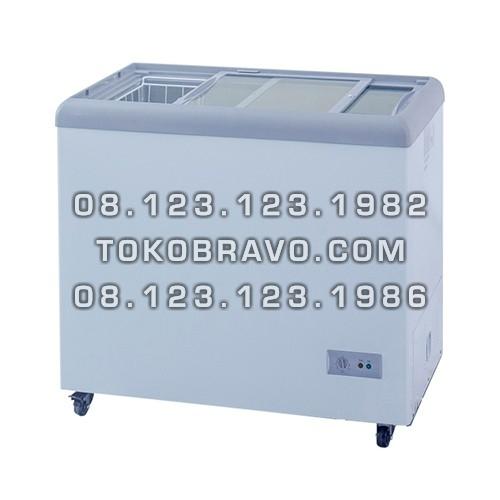 Sliding Flat Glass Freezer SD-186 Gea