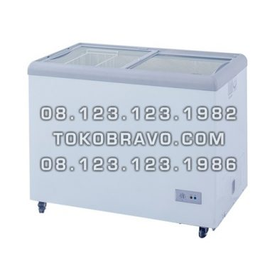 Sliding Flat Glass Freezer SD-256 Gea