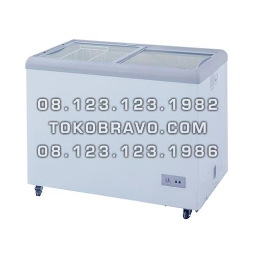 Sliding Flat Glass Freezer SD-256 Gea