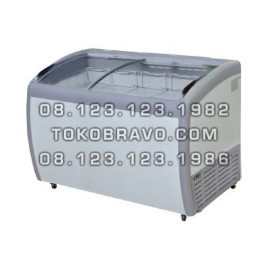 Sliding Curve Glass Freezer SD-360BY Gea