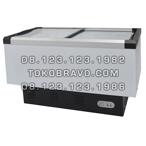 Sliding Flat Glass Freezer SD-406BP Gea