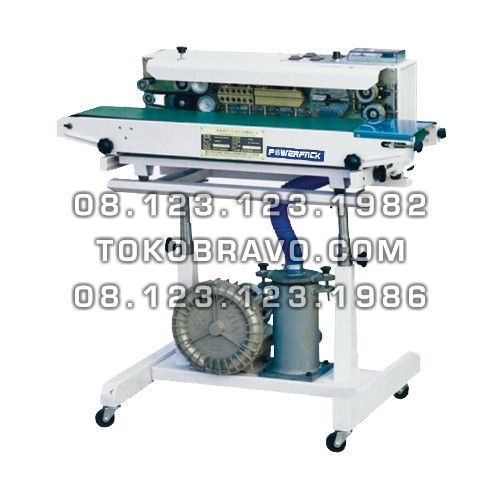 Continuous Band Sealer with Gas Filling SF-150G Powerpack
