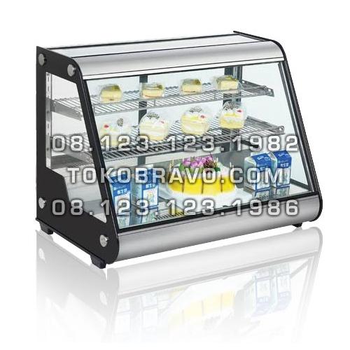 Countertop Cake Showcase SHC-CRTW160L-2 Fomac