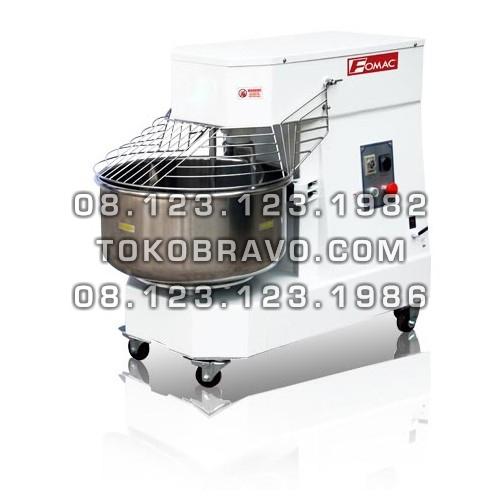 Double Speed Doughmaker Machine 380V Spiral Mixer SMX-DN60B Fomac