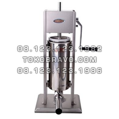 Vertical Sausage Stuffer Stainless Steel 5L SSF-SV5 Fomac