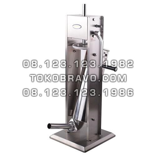 Vertical Sausage Stuffer Stainless Steel 7L SSF-SV7 Fomac