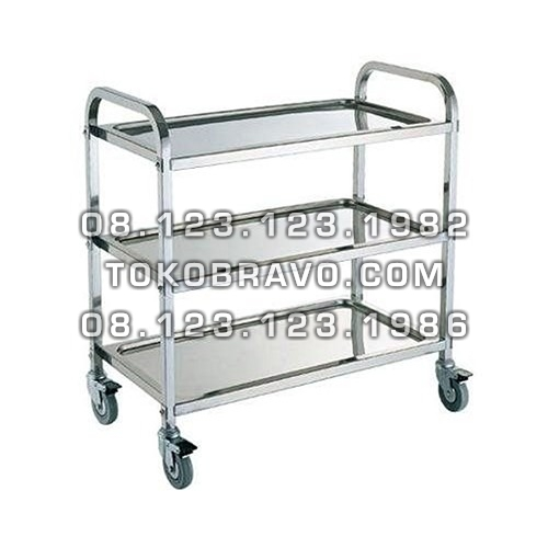 Stainless Steel Serving Trolley ST-022 Getra
