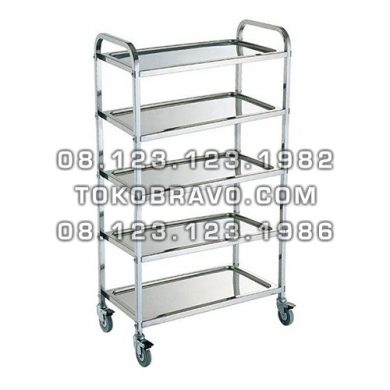 Stainless Steel Serving Trolley ST-501 Getra