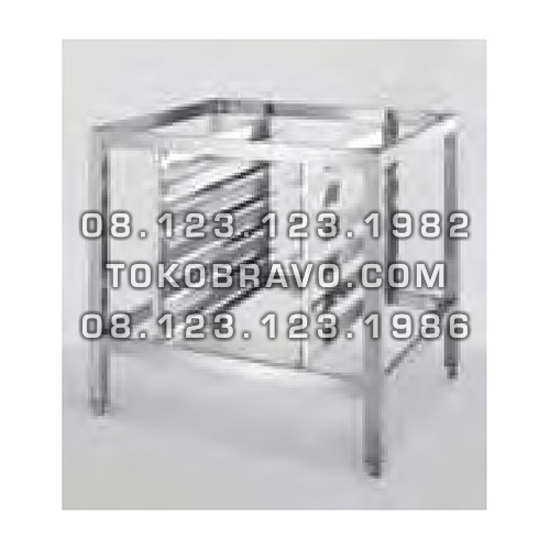 Combi Oven Accessories Stainless Stands with 5 Tray Holders Getra