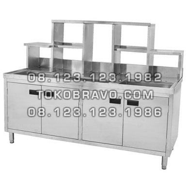 Stainless Steel Bubble Tea Cabinet TC-180 Getra