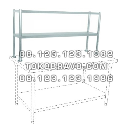 Stainless Steel Table Extra Shelf (Knock Down) TES-150 Getra