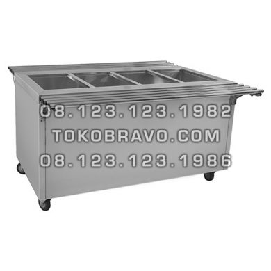 Free Standing Bain Marie with Cabinet TSDGNTC-178 Getra