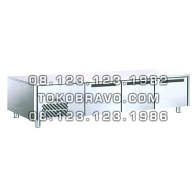 Stainless Steel Under Counter Chiller Drawer For Griller T-W6T3NNN Gea
