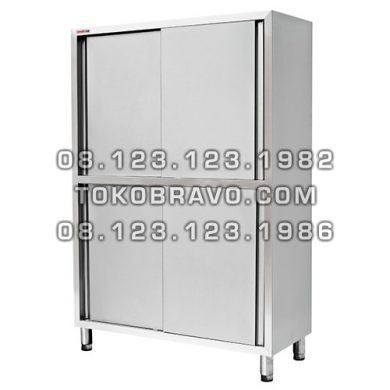 Stainless Steel Upright Cabinet with 4 Sliding Doors UR4D Getra