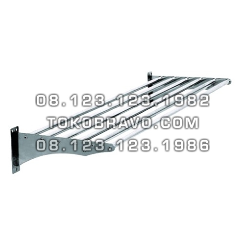 Stainless Steel Pipe Wall Shelf WSP-150 Getra