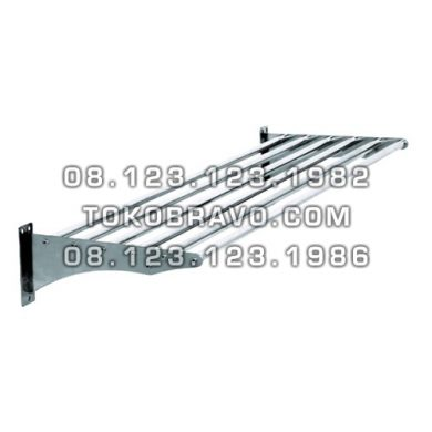Stainless Steel Pipe Wall Shelf WSP-180 Getra