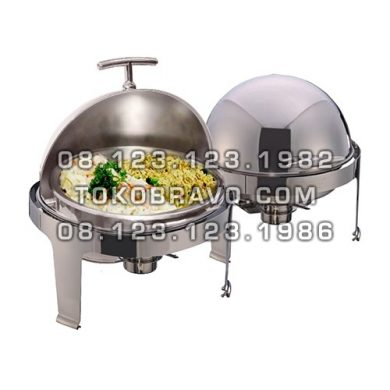 Chafing Dish Round Roll Top 6L without Window Lid YH-721D Getra