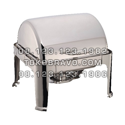 Chafing Dish Rectangle Roll Top 5.5L YH-722D Getra