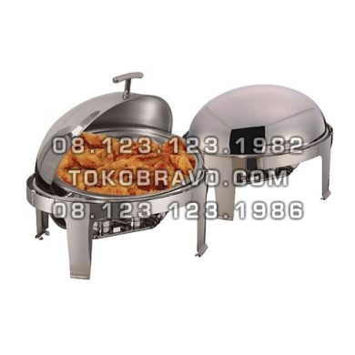 Chafing Dish Oval Roll Top 6.8L YH-736D Getra